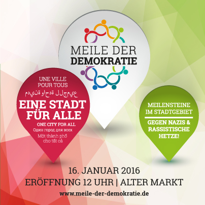 2016-01 8. Meile der Demokratie Facebook Post